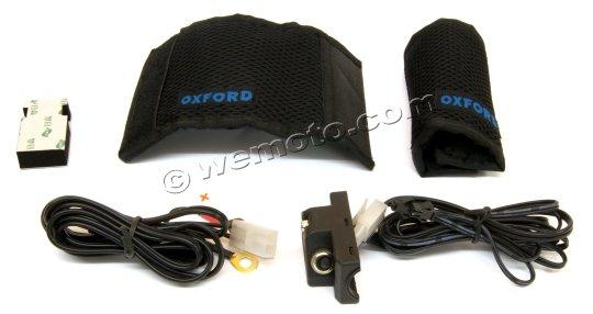 Picture of Heated Handlebar Over-Grips HotHands by Oxford for 7/8 Inch (22mm) Handlebars