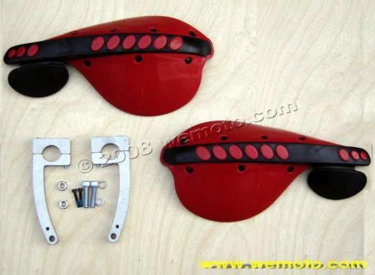 Picture of Hand Guards Universal - Red and Black