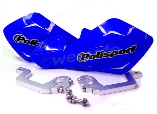 Picture of Hand Guards Polisport Free Flow Lite Enduro/MX Blue