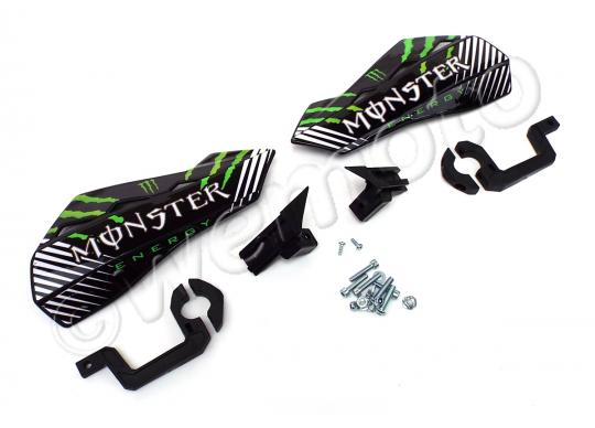 Picture of Quad Hand Guards - Monster Energy