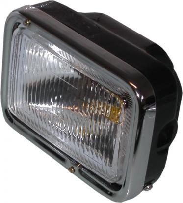 Picture of Headlight Complete Rectangle as Yamaha RD125LC TZR125 7.5 Inch
