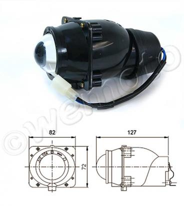 Picture of Front Light  Projector Type S3 12V 15W