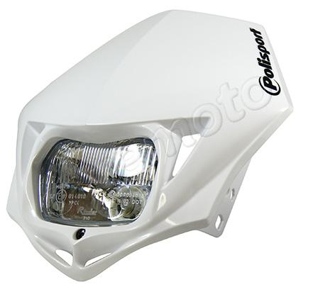 Picture of Headlight Trail Polisport MMX Trail Style White