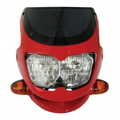 Picture of Dash Universal Sports Fairing Headlight - Red