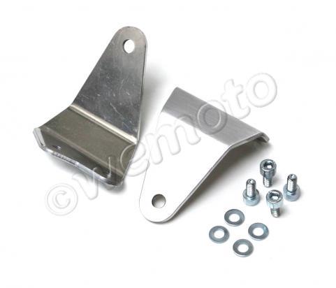 Picture of Headlight Bracket Slim  Polished Aluminium  1 Pair -  Yamaha SR400/500