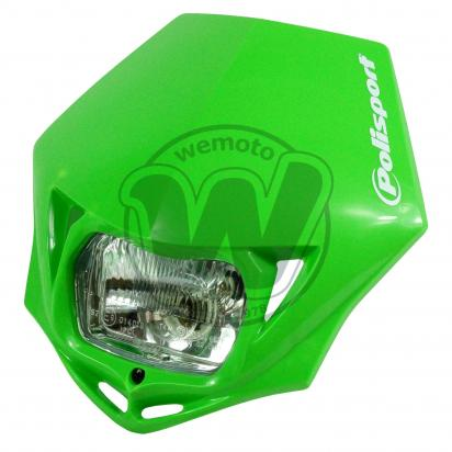 Picture of Headlight Trail Polisport MMX Green (E-Marked)