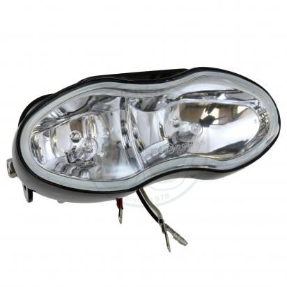 Picture of Universal Twin Bulb Spotlight/Foglight Assembly H3 55W