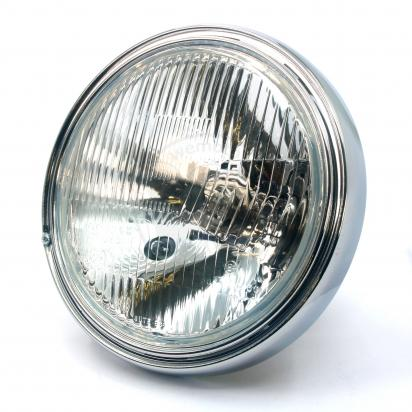 Picture of Headlight Replacement Glass & Reflector for 7 inch Headlight