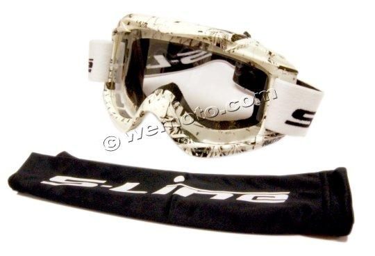 Picture of Goggles S-Line Off Road White/Black
