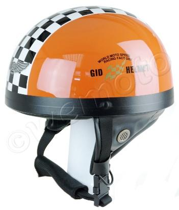 Helmet Classic Orange XL (59-60) Non-homologated, Not Road Legal
