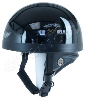 Helmet Classic Gloss Black XL (59-60) Non-homologated, Not Road Legal