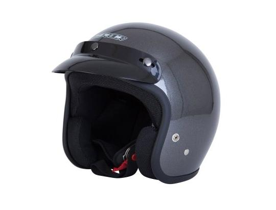 Picture of Spada Helmet Open Face Plain Anthracite Size Large