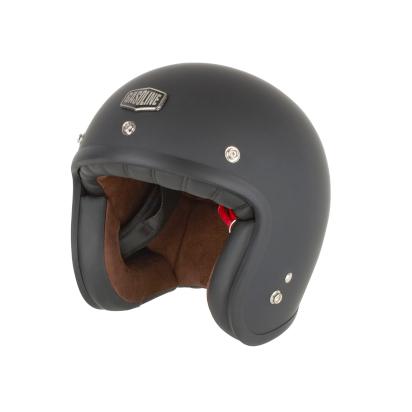 Gasoline - Helmet Jet Cafe Racer S250 Matt Black
