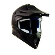 Matte Black Swaps Motorcross Helmet