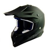 Swaps S818 Motocross Helmet - Matt Black