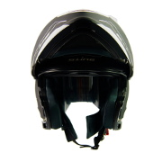 S-Line S550 Flip Up Full Face Helmet - Black and White