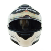 White S-Line Full Face Helmet