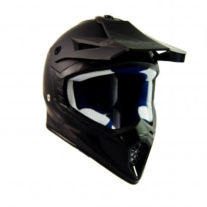 Picture of Swaps S818 Motocross Helmet - Large 59 to 60 - Matt Black