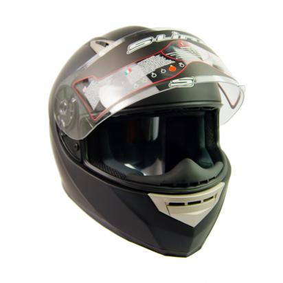 Picture of S-line S448 Full Face Helmet - Large 58 to 59 - Matt Black
