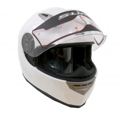 Picture of S-line S448 Full Face Helmet - Large 58 to 59 - Gloss White
