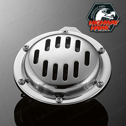 Picture of Horn 12 Volt Chrome - Custom Style - Universal