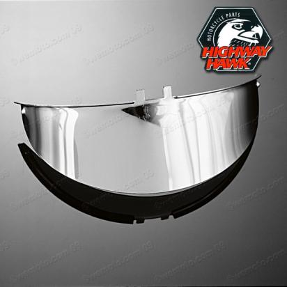 Picture of Visor Chrome Plain  for 7 Inch Head Light