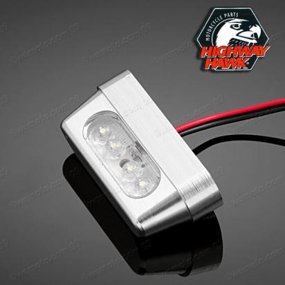 License Plate LED Light Billet by Highway Hawk
