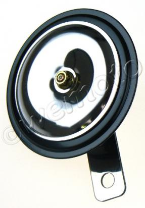 Picture of Horn 12 Volt Chrome - 80mm Diameter