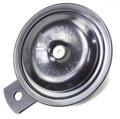 Picture of Horn 12 Volt Black - 91mm Diameter - 3 Amp - 110db