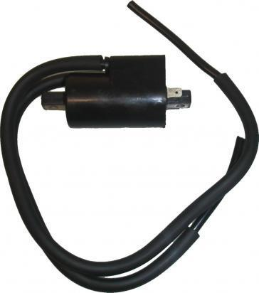 Picture of Ignition Coil 12v CDI Twin Lead 2 Terminal 1+4 GSXRs (90mm)