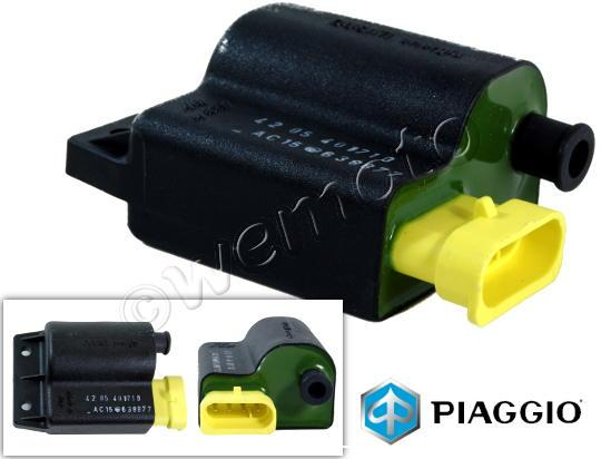 Picture of Genuine Ignition Coil - Piaggio Zip 50cc 4T 05-09