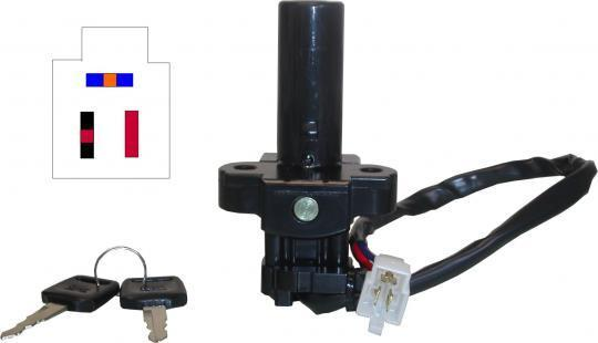 Picture of Ignition Switch Honda NTV600M,NTV650P,S,T,V 3 Wires