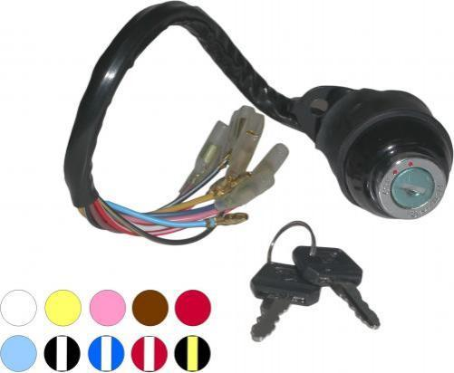 Picture of Ignition Switch Kawasaki KM100 10 Wires