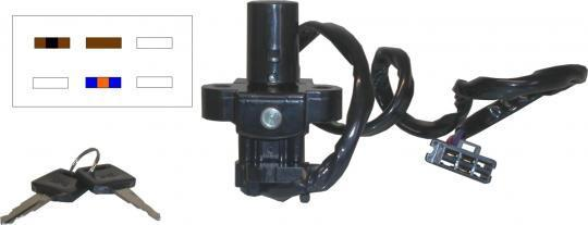 Picture of Ignition Switch Honda CBR900R 3 Wires (MAE)