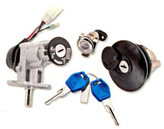 Picture of Ignition Switch, Seat Lock And Petrol Cap CPI