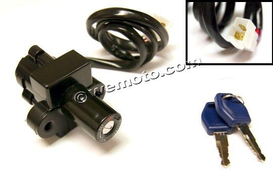 Picture of Ignition Switch Honda CBR600FM VFR800 1999 3 Wires