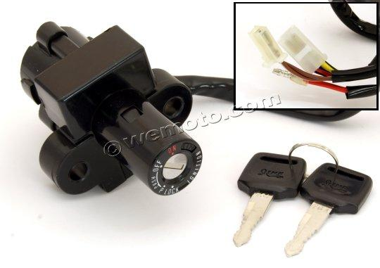 Picture of Ignition Switch Honda CB-1 6 Wires
