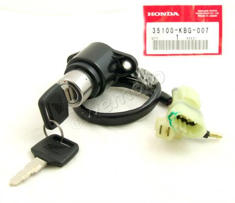 Picture of Ignition Switch Honda CB 250 M/N/P/R/T/W/X/Y/1 Two Fifty MC26 Genuine Part