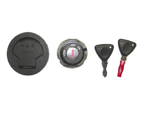Picture of Ignition Barrel And Petrol Cap Piaggio NRG 50 Power Purejet, NRG 50 Power DD/DT