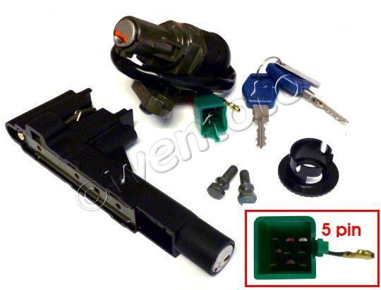 Picture of Ignition Switch and Seat Lock Suzuki Address 50R, AY 50 Katana, AY 50R Katana