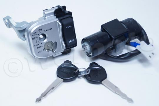 Picture of Honda PCX 125 (WW 125) 10 Ignition Switch Plus Lock Set - OEM Part