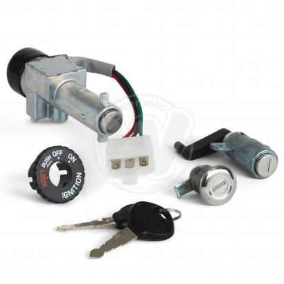Picture of Ignition Switch Plus Lock Set Kymco People 50,125,150