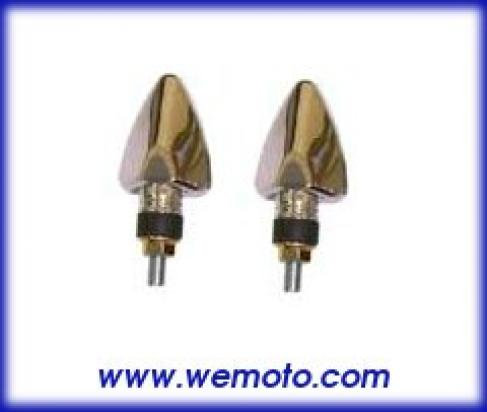 Picture of Indicator Pair - LED - Silver Tipped Arrow Head - Short Stem