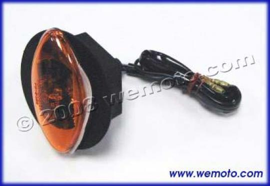Picture of Indicator - Mini Black Oval