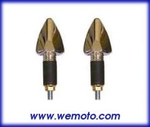Picture of Indicator Pair - LED - Silver Tipped Arrow Head - Long Stem