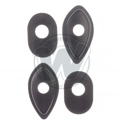 Picture of Indy Spacer - Indicator Spacer kit (set of 4) for Fitting Custom Indicators Honda CBR600-CBR600RR-CBR900-CB600-900