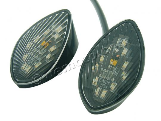 Picture of Integrated LED Indicator Set - Custom Part for Honda CBR - Front Left And Right