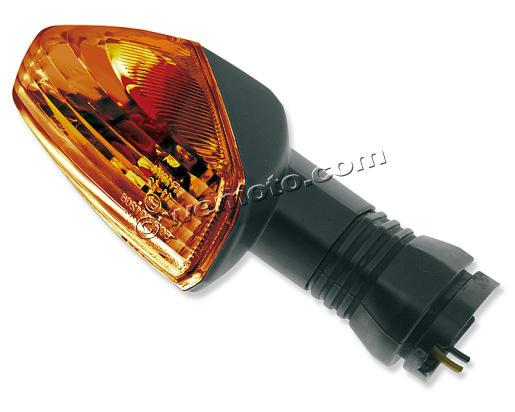 Picture of Indicator Kawasaki KLE 500 05-07 (Amber lens) Front Left, Rear Right