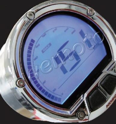 Koso Dl 02s Digital Speedometer Universal 55 64mm Diameter