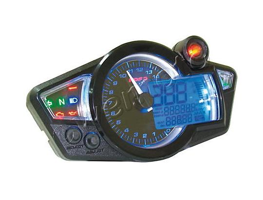 KOSO Digital Cockpit GP-STYLE Universal - black face